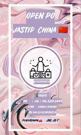OPEN JASTIP CHINA