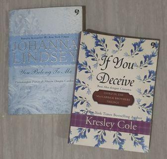 Novel Roman Terjemahan 1 Set Isi 2 Buku (Pre-Owned)