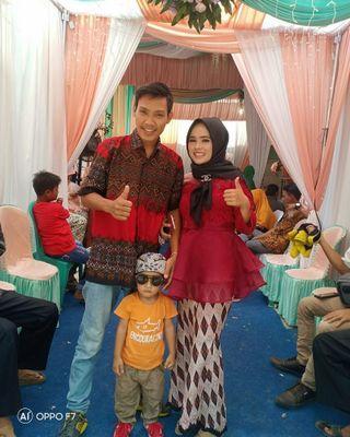 Kebaya orgnza +rok duyung kain batik