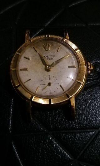 50's 年代Rolex 古董實金18K小三針