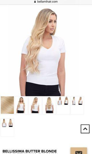 Bellami Bellisima Clip in Hair Extension