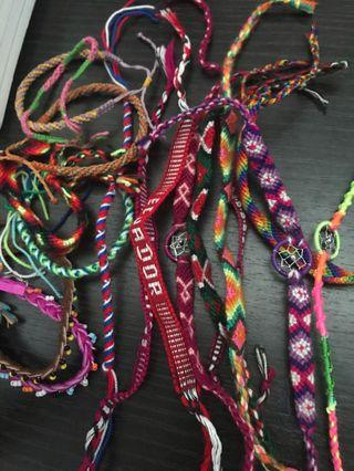 Bundle of Friendship Bracelets