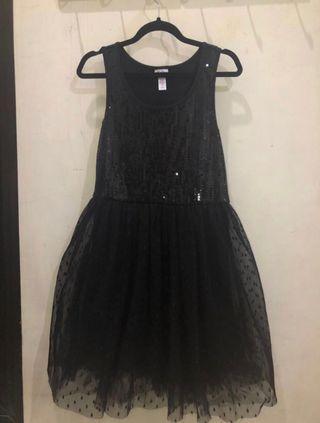 JUSTICE black dress