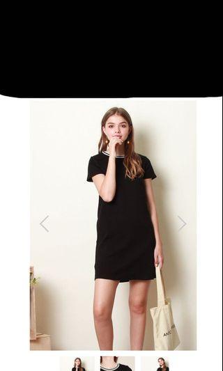 🚚 Anticlockwise ACW Sports Rim Tee Dress in Black - Tcl closet lover neonmello lilypirate tsw fayth fashmob love bonito threadtheory AFA AFORARCADE hollyhoque wonderstellar