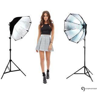 1000w Photo Video Continuous Softbox Lighting Kit / BRAND NEW / GTAPhotoStudio . com