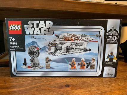Lego 75258 Star Wars Snowspeeder 20th Edition