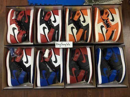 售 多款 Air Jordan 1 Retro High OG