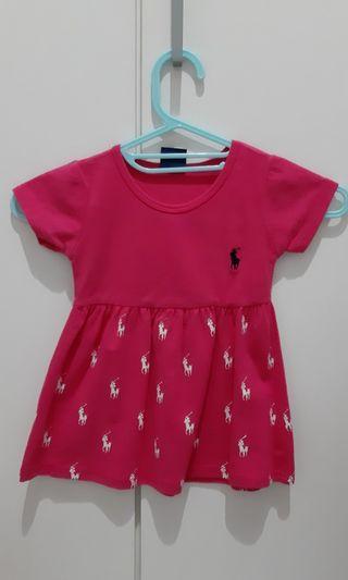 Polo dress bayi