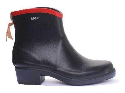 Aigle Miss Juliette 短boot 水鞋 (約20cm 高, 原價$1100)