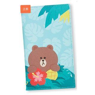 鴻福堂旅行套裝一套(包CHOCO 兩用旅行袋可變身行李帶+熊大passport 證件套一個