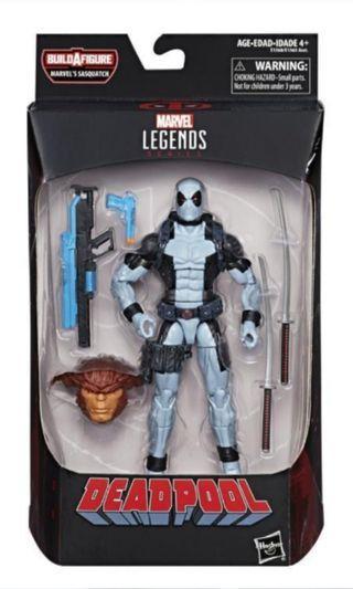 Marvel Legends Sasquatch Wave X-Force Deadpool(MISB)