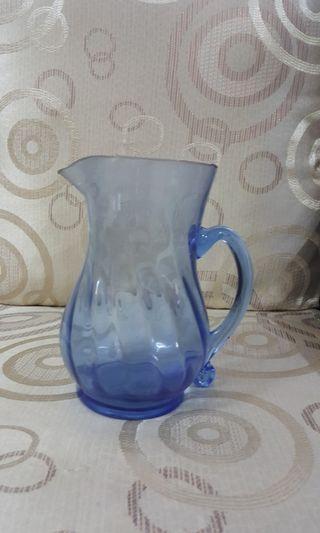 Glass jug pitcher jag gelas
