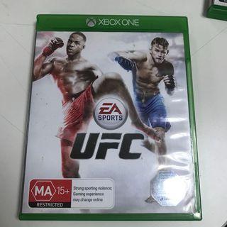 🚚 UFC 英文版 XBOX ONE 台灣機可玩