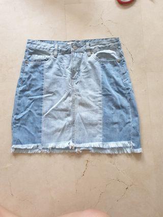 🚚 Denim & Co Skirt