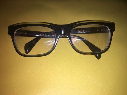 Like new Prada tortoise rectangle eyeglasses
