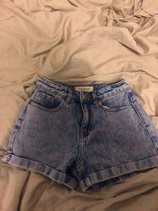NEW Pacsun High Rise Mom Short