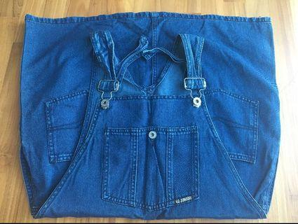 Denim dungaree (skirt)