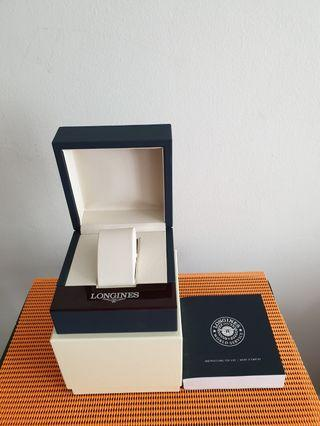 🚚 Longines Watch  Empty  Box