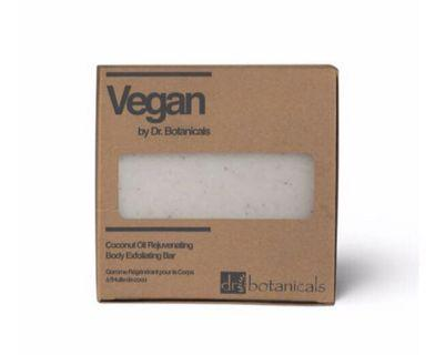 Dr Botanticals COCONUT OIL REJUVENATING BODY EXFOLIATING BAR