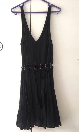 Topshop Swing Cut Out Dress / Overall