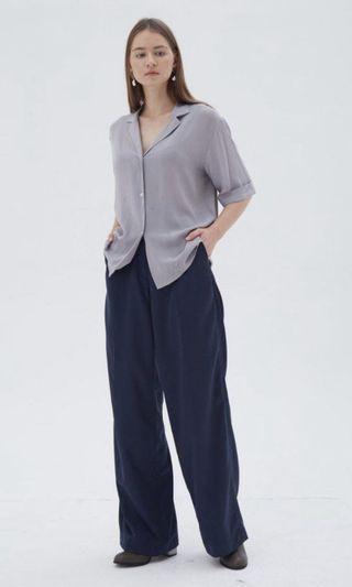 Ease shirt grey shopatvelvet