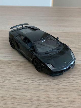 Lamborghini Gallardo 1:32 Diecast Car Black