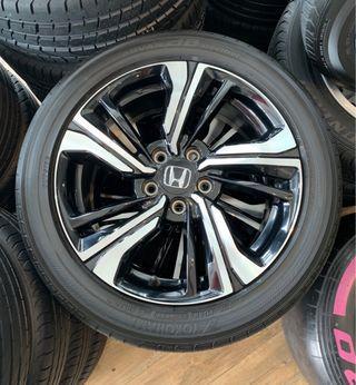 Honda Civic 1.5T Rims with Yokohama Tyre