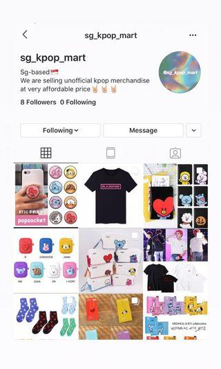 🚚 CHEAP kpop shop on Instagram !!