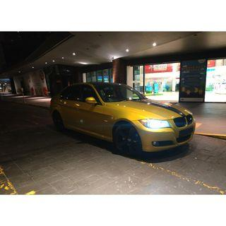 Rare M4 Gold BMW 320