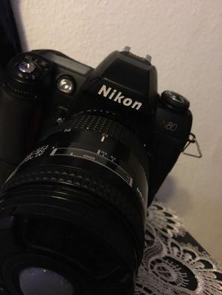 🚚 Nikon N80 | AF Nikkor 28-85mm, 1:3.5 - 85mm