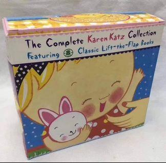 💗The Complete Karen Katz Collection Featuring 8 Classic Lift-the-Flap Books💗