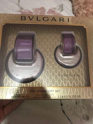 Bvlgari omnia gift set perfume