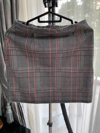 New look Checkered Skirt