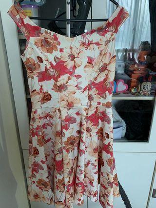 Fayth Floral dress
