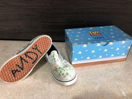 Vans Toy Story Classic Slip-On ANDY's Shoes