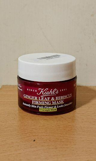 Kiehl's Ginger Leaf & Hibiscus Firming Mask 14ml