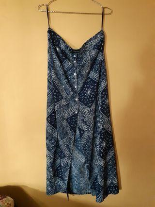 Highwaist skirt blue