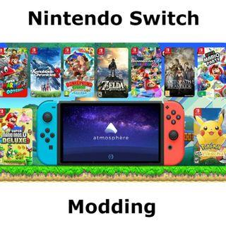 30 mins Nintendo Switch Express Modding (ALL Firmware Versions)