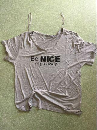 Kaos zara tshirt