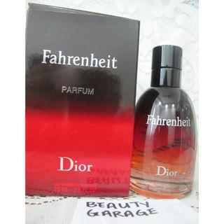 "RARE CHRISTIAN DIOR FAHRENHEIT LE PARFUM 75ml Hard To Find Discontinued Flanker "" Intense Version "" men perfume"