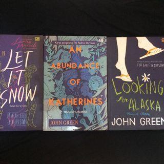 Novel John Green (take all)