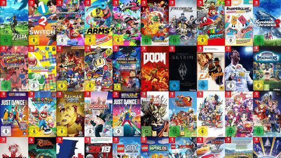 🚚 [Buying] Nintendo Switch Games
