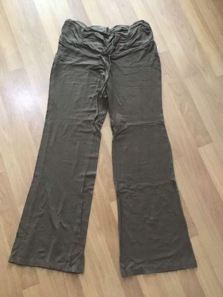 Maternity Long Pants (Brown)