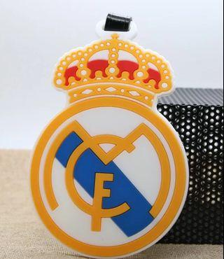 Real Madrid Luggage Tag