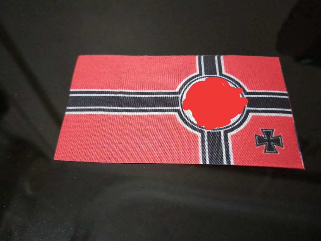 1/16 WW2 German Battle Flag for RC Tank, Toys & Games