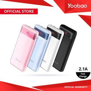 Yoobao P20000L 20000mAh LED Display Ultra Thin Powerbank