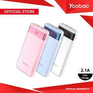 YOOBAO YB-PL12 PRO 12000mAh Slim Fast Charge LCD Powerbank