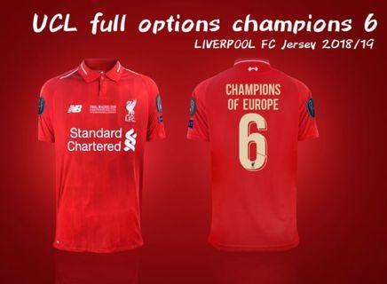 Liverpool CL winners kit