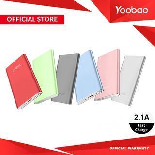 Yoobao A1 10000mAh Ultra Slim Fast Charge Powerbank