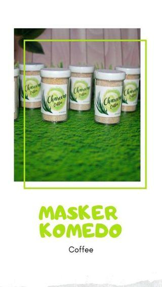MASKER KOMEDO COFFEE